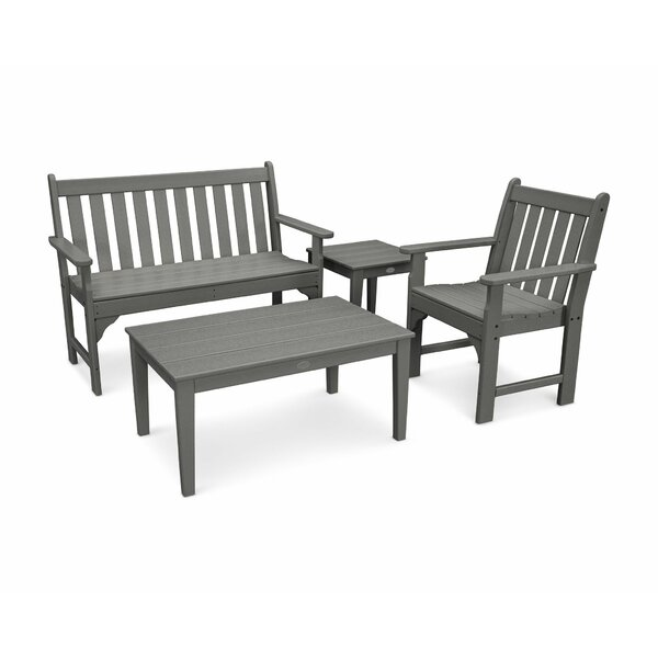 Vineyard 4 Piece Multiple Chairs Seating Group by POLYWOOD®
