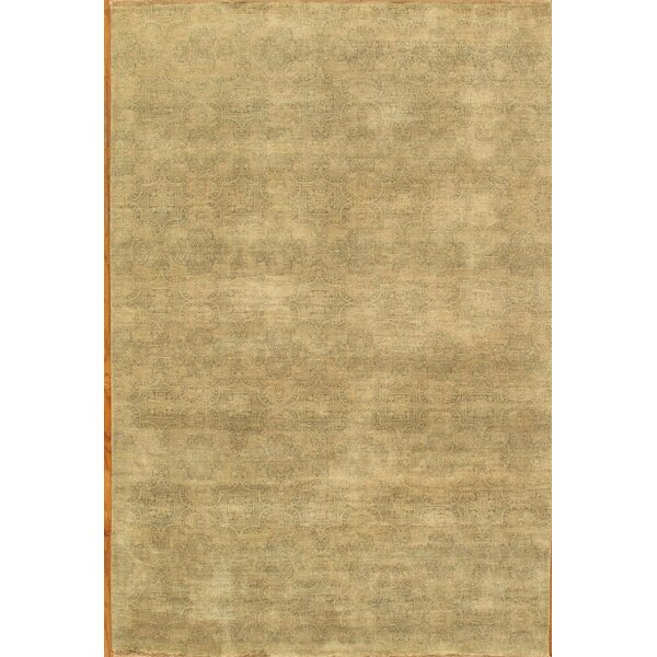Hand-Knotted New Zealand Merino Wool Area Rug by Pasargad