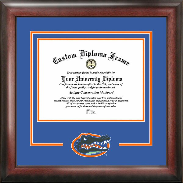 NCAA University of Florida Gators Spirit Diploma Picture Frame by Campus Images