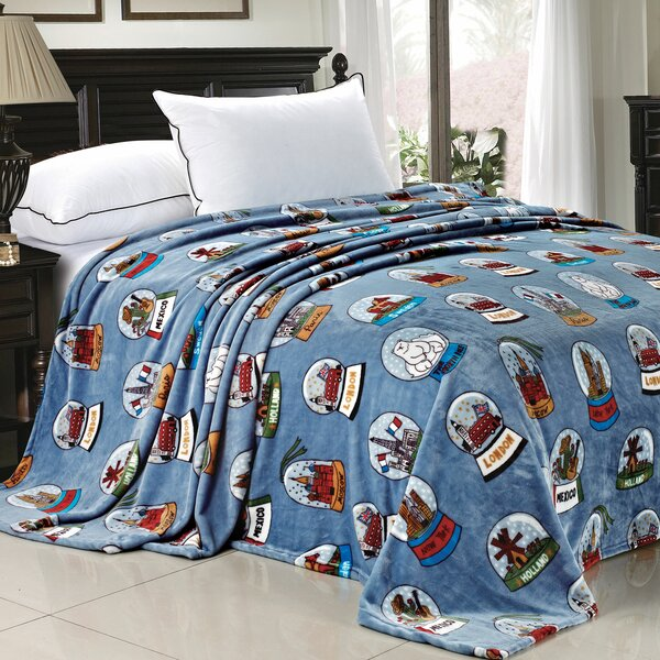 Cities of the World Fleece Blanket by BOON Throw & Blanket