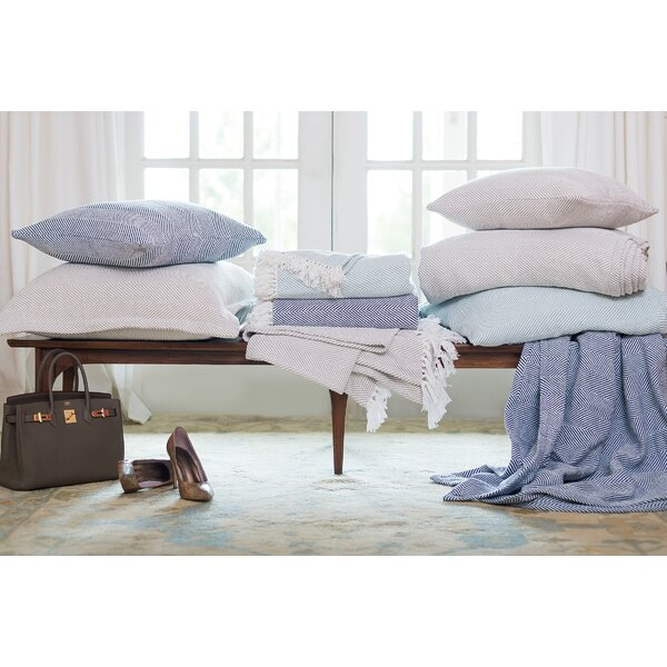 Clermont Cotton Throw Pillow by Eider & Ivory