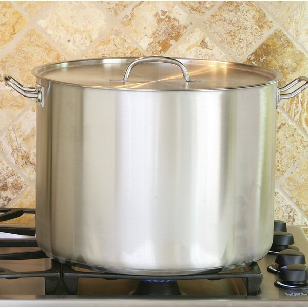 35-qt. Stock Pot with Lid by Cook Pro