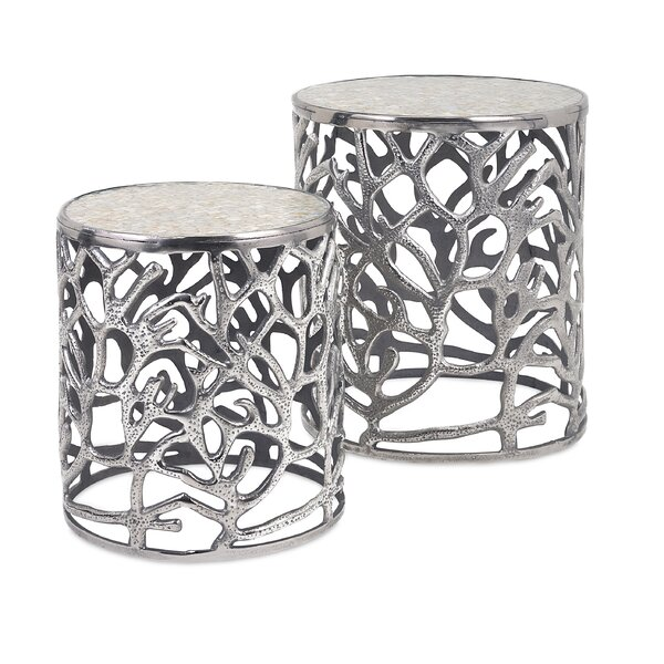 Cliffside 2 Piece End Table Set By Rosecliff Heights