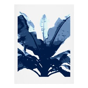 Bananarama Navy Graphic Art by East Urban Home