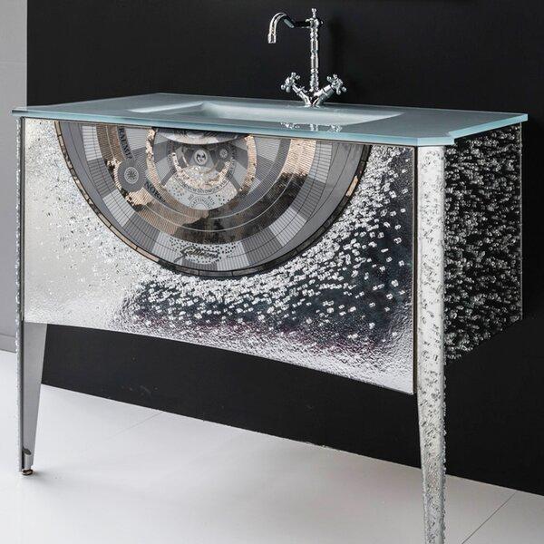 Glass 44 Bathroom Vanity Base by Maestro Bath