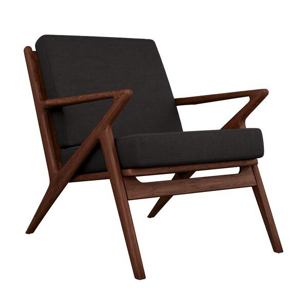 Buettner Micro Suede Lounge Chair by Corrigan Studio