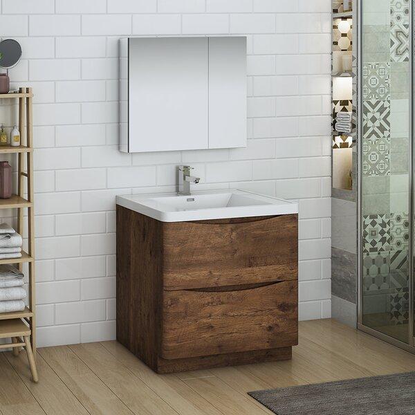 Senza Tuscany 32 Single Bathroom Vanity Set with Medicine Cabinet