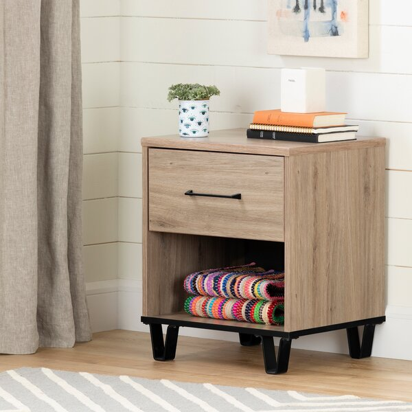 Fynn 2 Drawer Nightstand by South Shore
