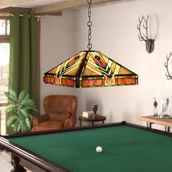 Adelange 2-Light Billiard Light by Loon Peak