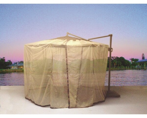 Cantilever Mosquito Umbrella Netting by Shade Trend