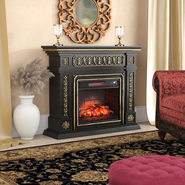 Music Infrared Electric Fireplace by Astoria Grand