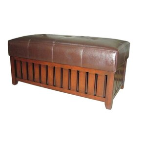 Wooden Storage Bench by ORE Furniture