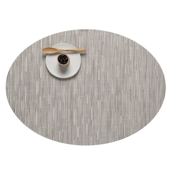 Bamboo Oval Placemat by Chilewich