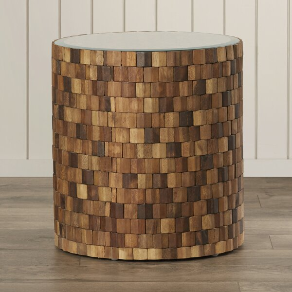 Packer End Table by Bay Isle Home