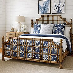 Palms Standard Bed by Tommy Bahama Home Tommy Bahama Home