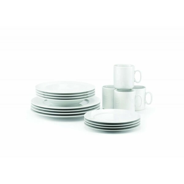 French Classics 16 Piece Dinnerware Set, Service for 4 by Revol