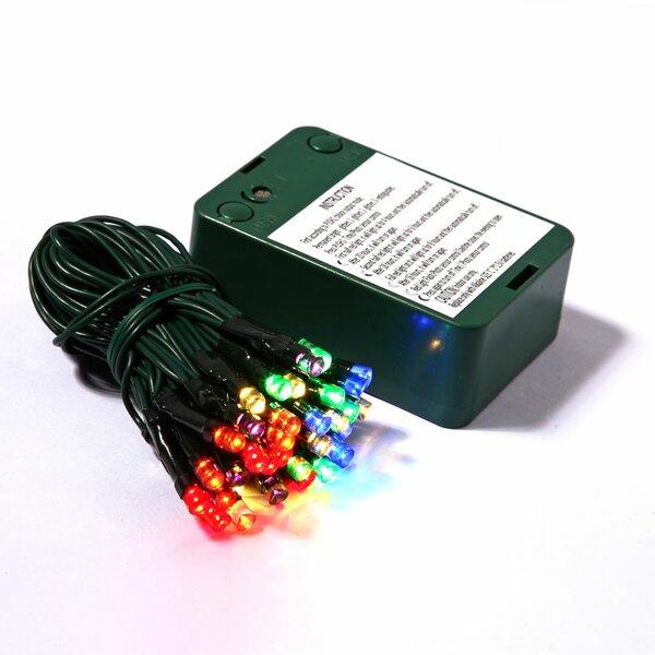 Wide Angle Timer Sensor 35 LED Light Set by The Holiday Aisle