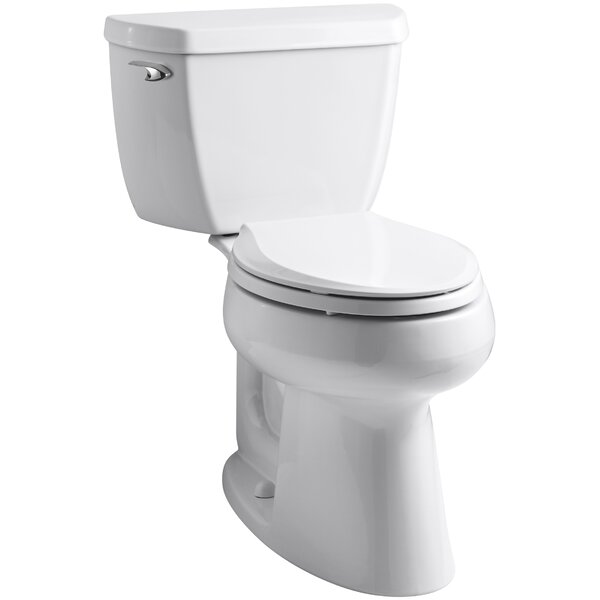 Highline Comfort Height 1.0 GPF Elongated Toilet 2 Piece by Kohler