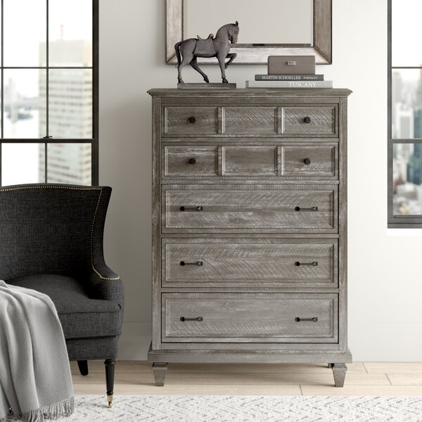 Altenburg 5 Drawer Chest by Greyleigh