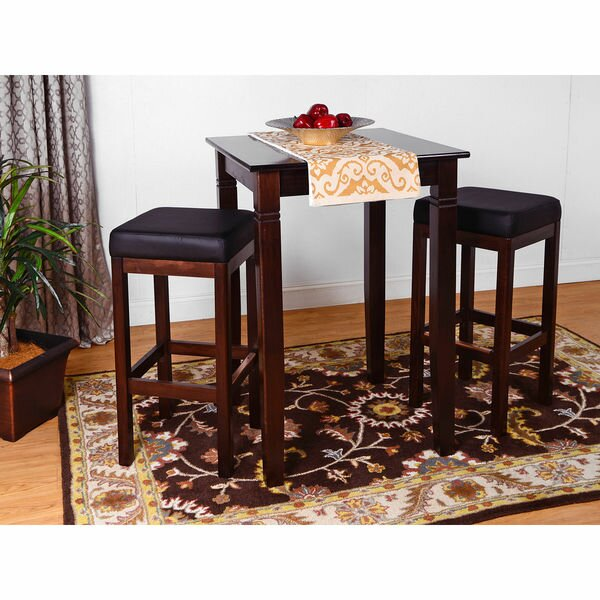 Eady 3 Piece Pub Table Set by Darby Home Co