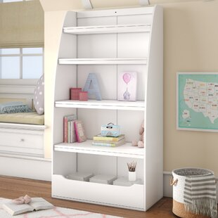 Affordable Besse Kids 4 Shelf 60 Bookcase By Viv + Rae
