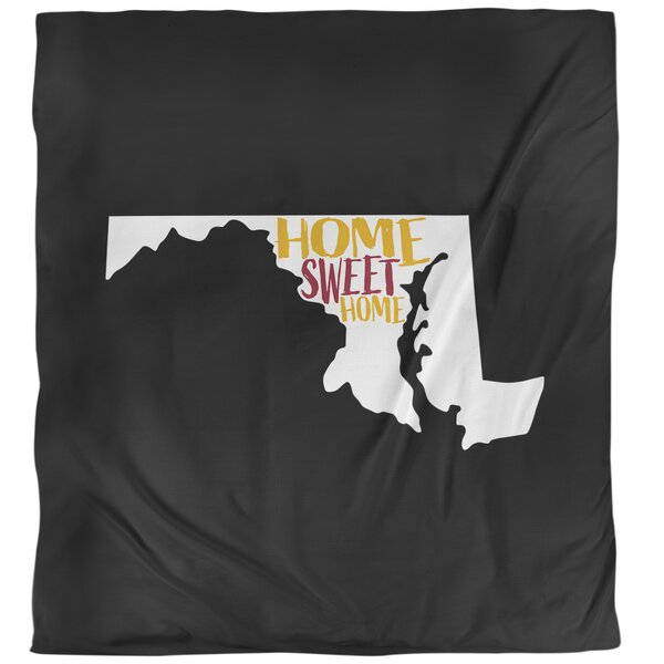 Maryland Home Sweet Single Duvet Cover