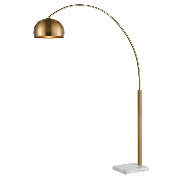 Sprague 77 Arched Floor Lamp by Everly Quinn