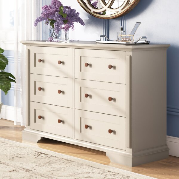 Mechling 6 Drawer Double Dresser by Laurel Foundry Modern Farmhouse