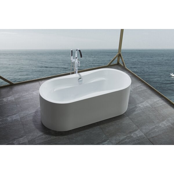 66.1 x 30.9 Bathtub by Legion Furniture