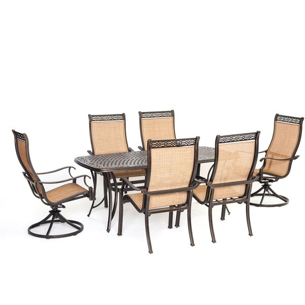 Barras 7 Piece Dining Set By Darby Home Co
