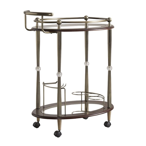 Polly Bar Cart by House of Hampton