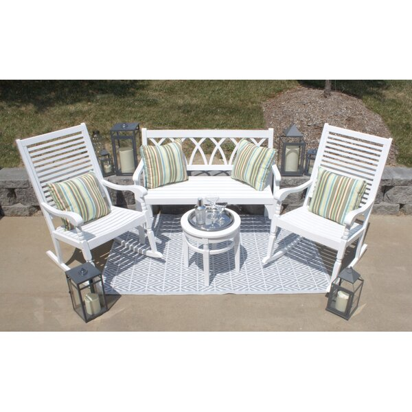 Moses 4 Pieces Multiple Chairs Seating Group by August Grove