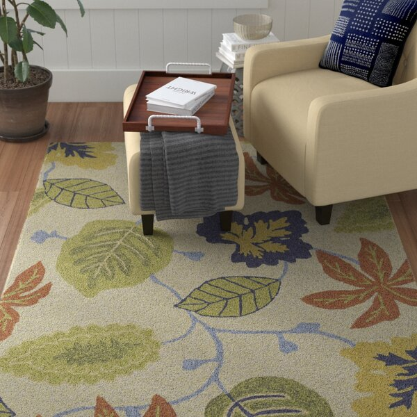 Cavour Linen Floral Indoor/Outdoor Area Rug by Winston Porter
