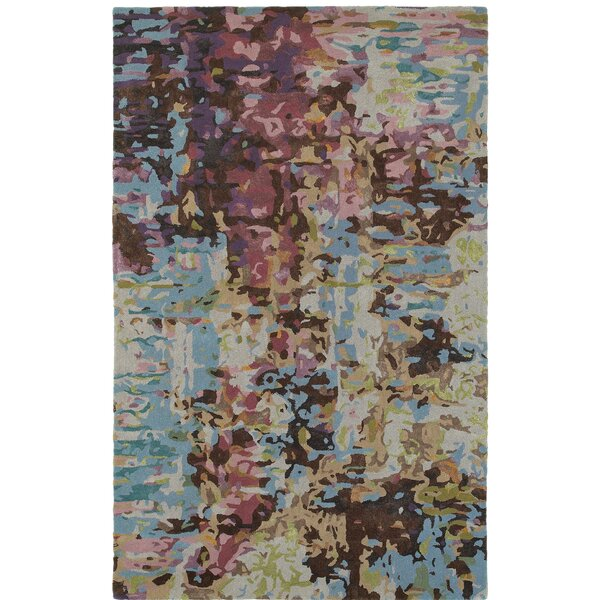 Wora Hand-Crafted Blue Area Rug by Latitude Run