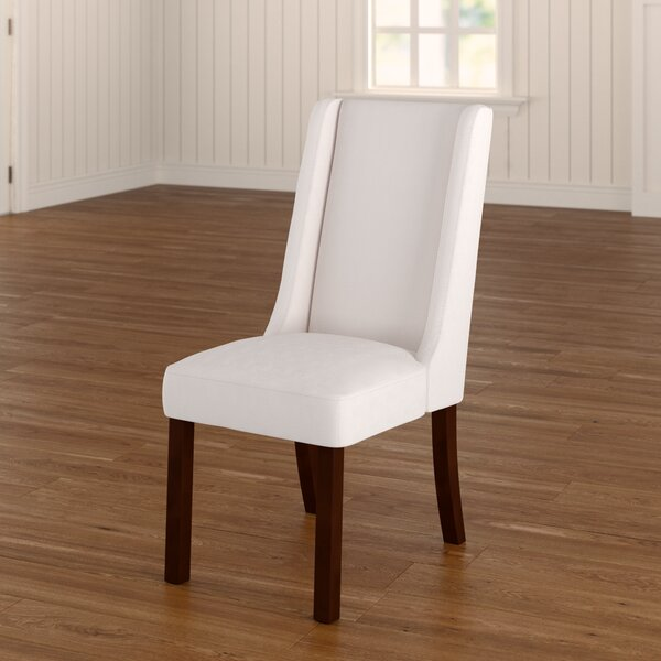 Granderson Wing Upholstered Dining Chair (Set of 2) by Three Posts