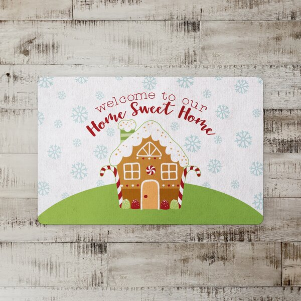 Devries Home Sweet Home Kitchen Mat