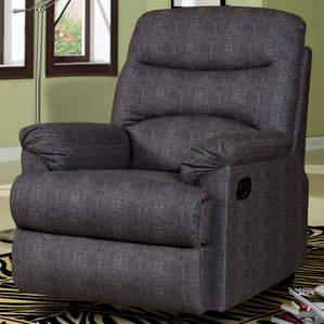 Alana Manual Recliner by Living In Style