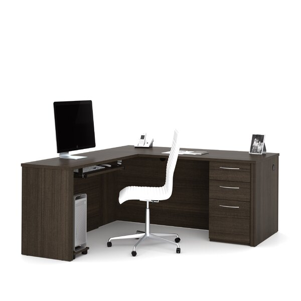 Karyn L-Shape Executive Desk by Latitude Run