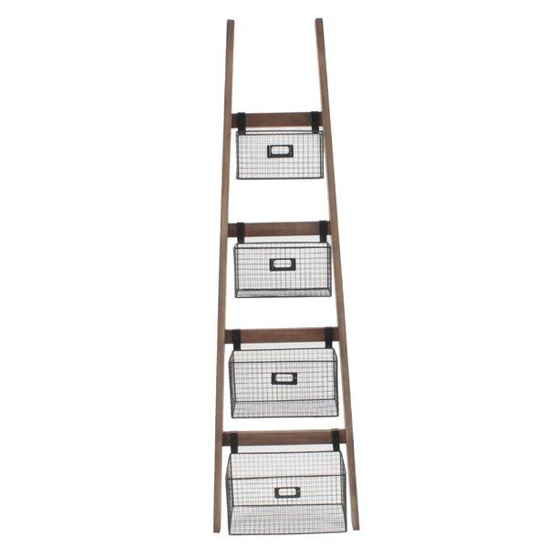 Tallulah Wall Shelf Ladder Bookcase by Gracie Oaks