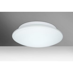 Bargain Sola 3-Light Outdoor Flush Mount By Besa Lighting
