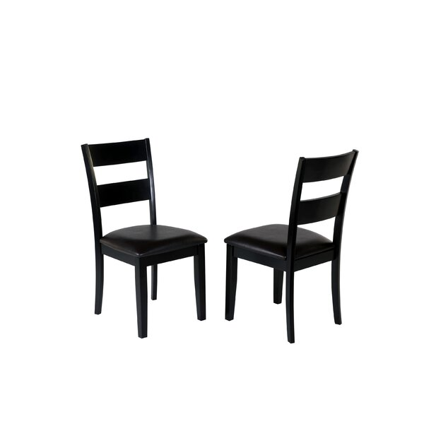 Agustine Solid Wood Dining Chair (Set of 2) by August Grove