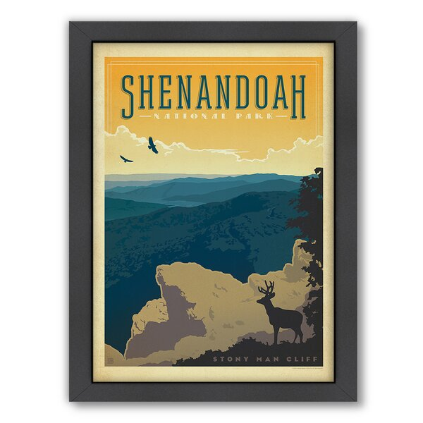 National Park Shenandoah Framed Vintage Advertisement by East Urban Home