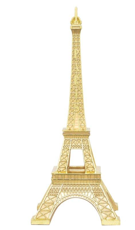 Three Hands Co. Resin Eiffel Tower Sculpture & Reviews | Wayfair