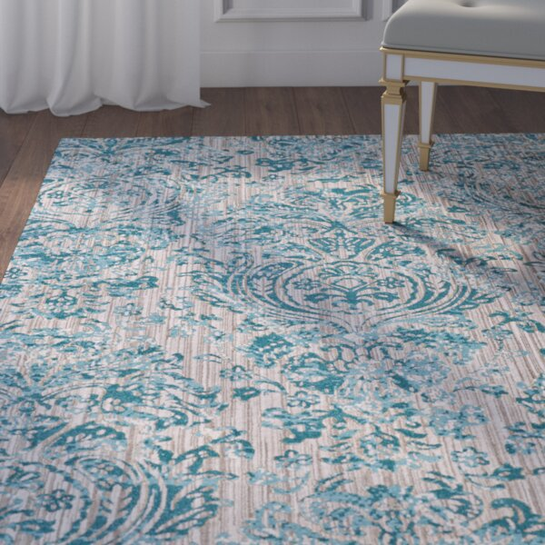 Andersen Aqua Area Rug by Willa Arlo Interiors