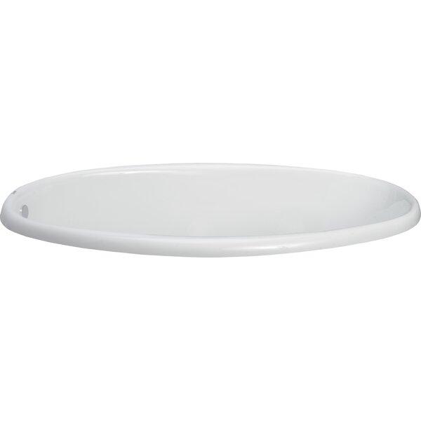 Vida 58 x 38 Drop-In Soaking Bathtub by Clarke Products