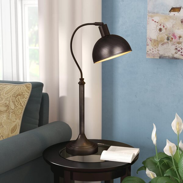 Starkville 25 Arched Table Lamp by Three Posts