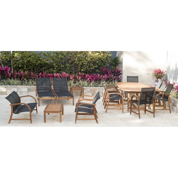 Nettleton 16 Piece Complete Patio Set by Beachcrest Home
