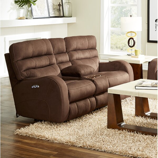Fine Quality Kelsey Reclining Loveseat by Catnapper by Catnapper