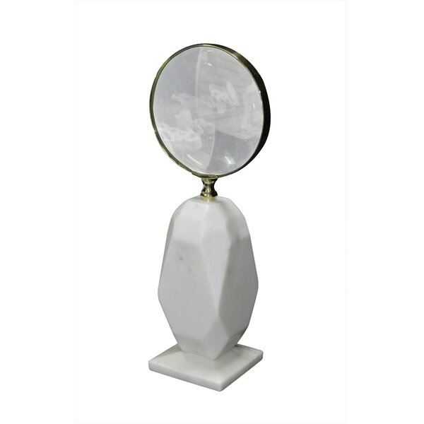 Fraga Marble Magnifying Glass By Everly Quinn Wonderful