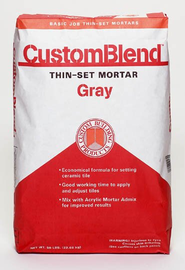 Custom Blend Thin-Set Mortar 50lb by Custom Building Products